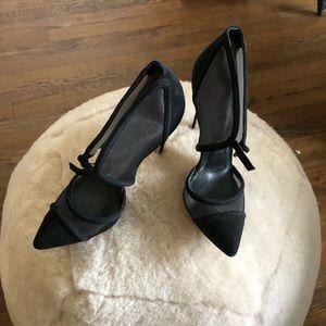 Reiss black heels